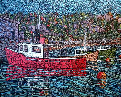 Fishing Boats - Beaver Harbour Poster
