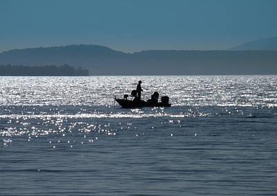 Fishing Lake Champlain Poster