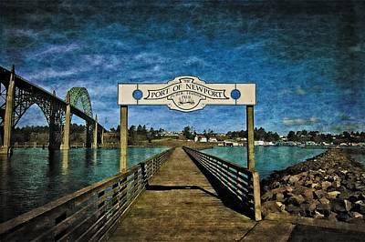 Fishing Pier Poster by Thom Zehrfeld