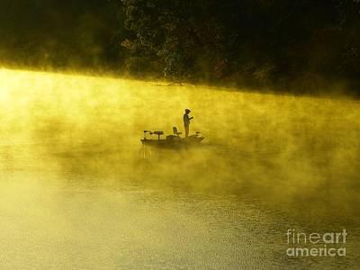 Fishing The Prettyboy Reservoir Poster