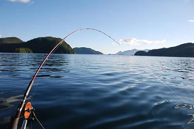 Fishing Tlupana Inlet Poster