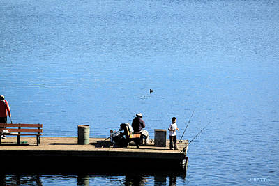 Fishing With Grandpa Poster