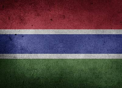 Flag Of Gambia Poster by FL collection