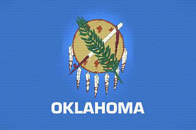 Flag Of Oklahoma Wall Poster