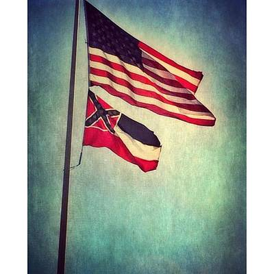 Flags #textured #patriotic Poster