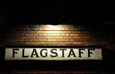 Flagstaff Train Station Poster