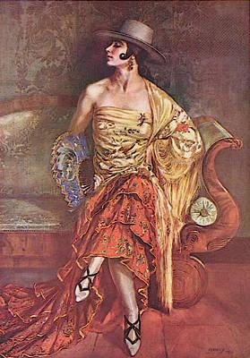 Flamenca Poster by George Owen Wynne Apperley