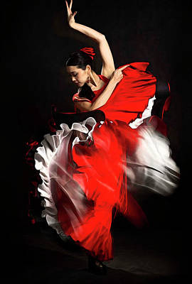 Flamenco Dancer - 01 Poster