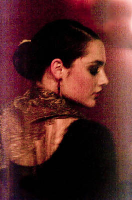 Flamenco Series 17 Poster by Catherine Sobredo