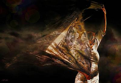 Flamenco Traditional Dance Poster by Jean Francois Gil