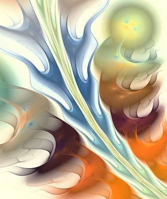 Flaming Breath Poster by Anastasiya Malakhova