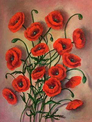 Flander Poppies Poster