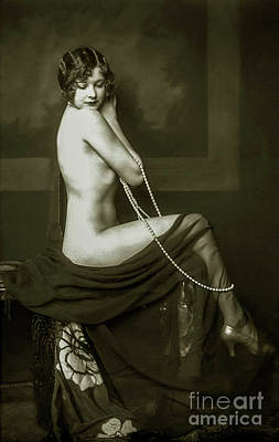 Flapper Pin Up  Poster