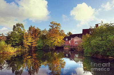 Flatford Mill Poster by Svetlana Sewell