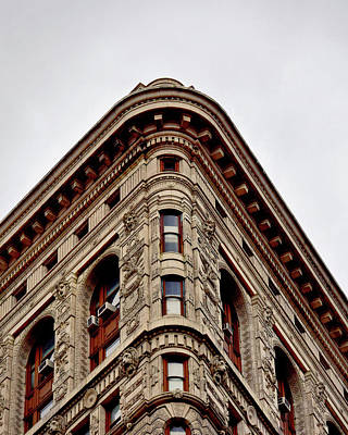 Flatiron Building Detail Poster by Sandy Taylor