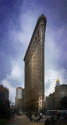 Flatiron Building Poster by Marvin Spates