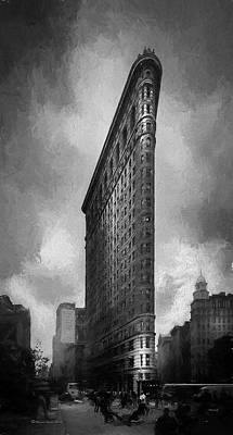 Flatiron Ch  Poster by Marvin Spates
