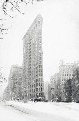 Flatiron In Winter Poster by Jessica Jenney