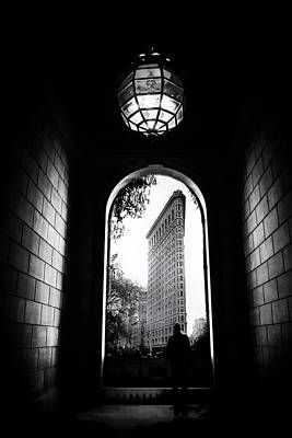 Poster featuring the photograph Flatiron Point Of View by Jessica Jenney