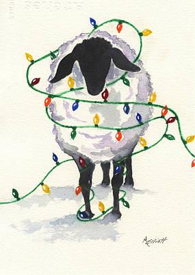 Fleece Navidad Poster by Marsha Elliott