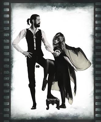 Fleetwood Mac 35mm Poster by Daniel Hagerman