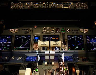 Flight Deck. Poster by Fernando Barozza