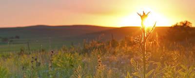 Flint Hills Sunset Poster