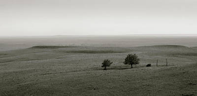 Poster featuring the photograph Flint Hills Vistas by Thomas Bomstad
