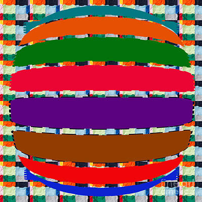 Floating Deck Abstract Art See On Pillows Curtains Duvetcovers Phonecases Greetingcards Tshirts Jers Poster by Navin Joshi