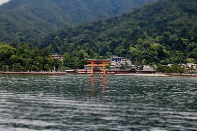Floating Torii Gate - Distance Poster