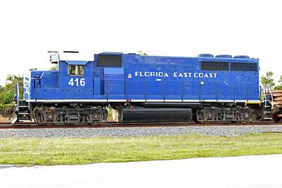 Floirda East Coast Engine Poster