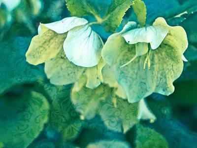 Floral Brocade Poster
