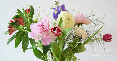 Poster featuring the photograph Floral Display by Wendy Wilton