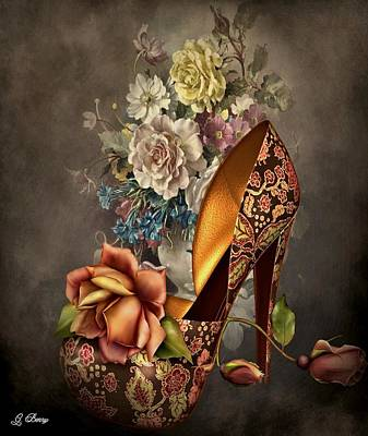 Floral Fashion Poster
