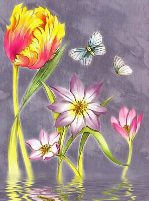 Floral Supreme Poster by Mario Carini
