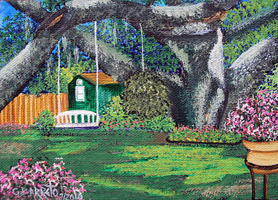 Florida Garden Poster
