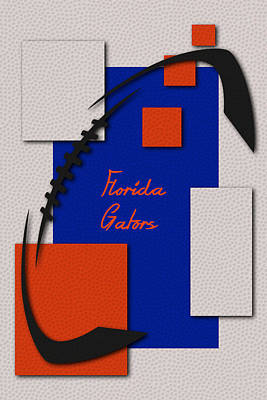 Florida Gators Art Poster by Joe Hamilton