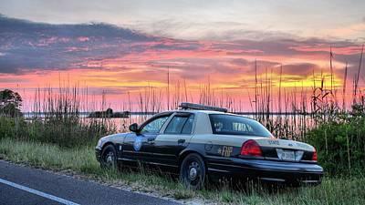 Florida Highway Patrol Poster