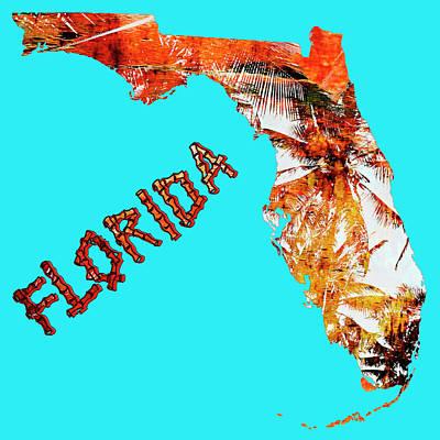 Florida Map Poster