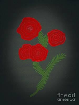 Flower Art Image Poster