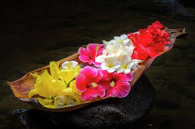 Flower Boat Poster