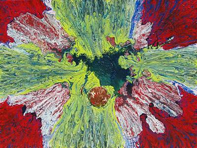 Flower Cross Poster