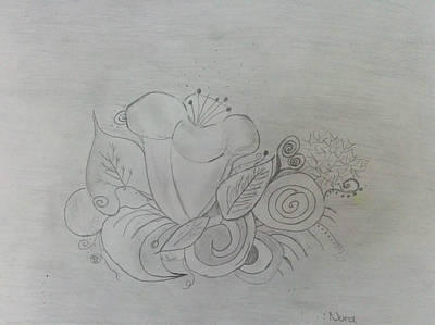 Flower Explosion Poster by Nura Abuosba
