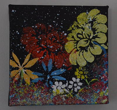 Flower Garden Poster by Martin Schmidt