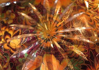 Flower Glass Poster