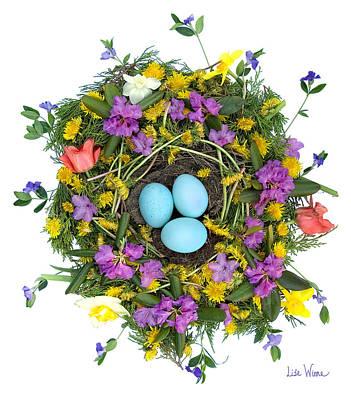 Flower Nest Poster