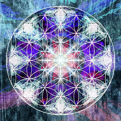 Flower  Of Life 1016 Poster