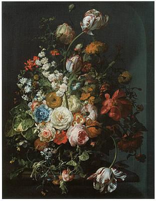 Flower Piece Poster by Rachel Ruysch
