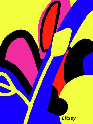 Flower Power Poster by International Artist Brent Litsey