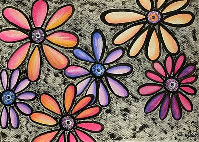 Flower Series 4 Poster by Graciela Bello
